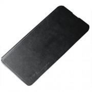 X-LEVEL Fib Color II Λεπτή Δερμάτινη Θήκη Βιβλίο με Βάση Στήριξης για Samsung Galaxy S10 Plus - Μαύρο