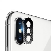 Camera Lens Protector Metal Cover for iPhone X/XS 5.8 inch - Black