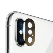 Camera Lens Protector Metal Cover for iPhone X/XS 5.8 inch - Gold