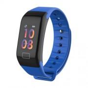 LEMONDA P1 0.96-inch Color Screen Sport Wristband with Blood Pressure Tracker - Blue