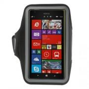 Black Sports Gym Workout Running Armband Case for Nokia Lumia 1520