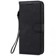 Δερμάτινη Θήκη Πορτοφόλι με Βάση Στήριξης (Όψη Vintage) για Nokia 4.2 - Μαύρο
