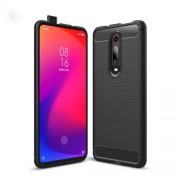 Carbon Fibre Brushed TPU Case for Xiaomi Redmi K20 / Mi 9T / Redmi K20 Pro / Mi 9T Pro - Black