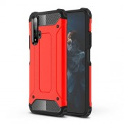 Armor Guard Plastic + TPU Combo Case for Huawei Honor 20 - Red
