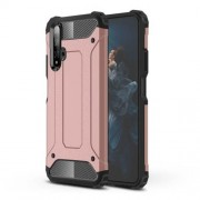 Armor Guard Plastic + TPU Combo Case for Huawei Honor 20 - Rose Gold
