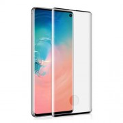 MOCOLO 3D Full Screen Curved Tempered Glass Screen Protector (Fingerprint Unlock) for Samsung Galaxy S10