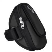 BBD-003 Θήκη Βραχίονα με Διπλή Θήκη και Τρύπα για Ακουστικά για Smartphones έως 5,5 ίντες - Μαύρο