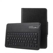 Δερμάτινη Θήκη Βιβλίο με Πλήκτρολόγιο Bluetooth για Samsung Galaxy Tab A 10.1 (2016) - Μαύρο
