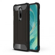 Armor Guard Plastic + TPU Hybrid Phone Case for OnePlus 7 Pro - Black