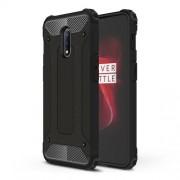 Tough Armor Υβριδική Θήκη Σιλικόνης TPU σε Συνδυαμό με Πλαστικό για OnePlus 7 - Μαύρο