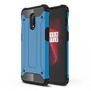 Tough Armor Υβριδική Θήκη Σιλικόνης TPU σε Συνδυαμό με Πλαστικό για OnePlus 7 - Μπλε