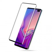 AMORUS for Samsung Galaxy S10 [3D Curved Full Cover] Tempered Glass Screen Protector (Case-Friendly Scaled-Down Version)