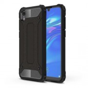 Armor Guard Plastic + TPU Hybrid Phone Cover for Huawei Y5 (2019) / Honor 8S - Black