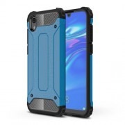 Armor Guard Plastic + TPU Hybrid Phone Cover for Huawei Y5 (2019) / Honor 8S - Baby Blue