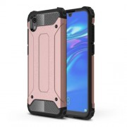 Armor Guard Plastic + TPU Hybrid Phone Cover for Huawei Y5 (2019) / Honor 8S - Pink