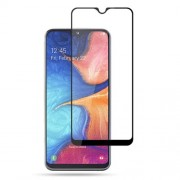 AMORUS Full Glue Silk Printing Tempered Glass Full Screen Protective Film for Samsung Galaxy A20e