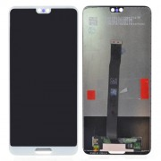 LCD Screen and Digitiger for Huawei P20 - White
