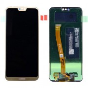 LCD Screen and Digitiger for Huawei P20 Lite - Gold