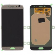 Original Samsung LCD and Digitizer Touch Screen for Samsung Galaxy J7 (2017) SM-J730 - Χρυσαφί (GH97-20736C)