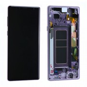 Original Samsung LCD + Digitizer Touch Screen for Samsung Galaxy Note 9 N960F - Lavender (GH97-22269E)