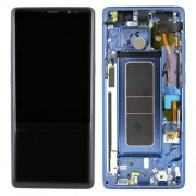 Original Samsung LCD + Digitizer Touch Screen for Samsung Galaxy Note 8 N950F - Blue (GH97-21065B)