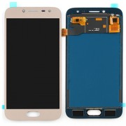 Original Samsung LCD and Digitizer Touch Screen for Samsung Galaxy J2 Pro SM-J250F - Gold (GH97-21812D)