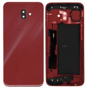 Original Battery Cover for Samsung Galaxy J6 Plus / J6+ (2018) SM-J610F - Red (GH82-17872B)