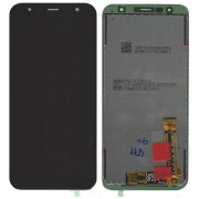 Original Samsung LCD + Digitizer Touch Screen for Samsung Galaxy J6 Plus / J6+ (2018) / J4 Plus / J4+ SM-J610F / SM-J415F - Black (GH97-22582A)