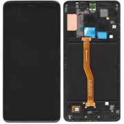 Original Samsung LCD and Digitizer Touch Screen for Samsung Galaxy A9 (2018) SM-A920F - Black (GH82-18308A)