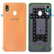 Original Battery Cover for Samsung Galaxy A40 SM-A405F - Orange (GH82-19406D)