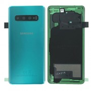Original Battery Cover for Samsung Galaxy S10 SM-G973F - Green (GH82-18378E)