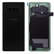 Original Battery Cover for Samsung Galaxy S10 SM-G973F - Black (GH82-18378A)