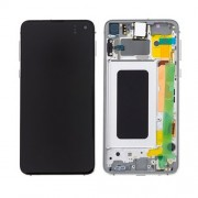 Original Samsung LCD and Digitizer Touch Screen for Samsung Galaxy S10e SM-G970F - White (GH82-18852B)