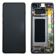 Original Samsung LCD and Digitizer Touch Screen for Samsung Galaxy S10 Plus SM-G975F - Green (GH82-18834E)