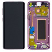 Original Samsung LCD and Digitizer Touch Screen for Samsung Galaxy S9 G960 - Violett (GH97-21696B)
