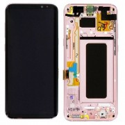 Original Samsung LCD and Digitizer Touch Screen for Samsung Galaxy S8+ G955 - Rose Gold (GH97-20470E)