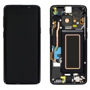 Original Samsung LCD and Digitizer Touch Screen for Samsung Galaxy S9 G960 - Black (GH97-21696A)
