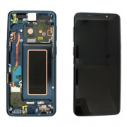 Original Samsung LCD and Digitizer Touch Screen for Samsung Galaxy S9 G960 - Blue (GH97-21696D)
