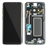 Original Samsung LCD and Digitizer Touch Screen for Samsung Galaxy S9 G960 - Grey (GH97-21696C)