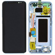 Original Samsung LCD and Digitizer Touch Screen for Samsung Galaxy S8 G950 - Blue (GH97-20457D)
