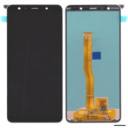 Original Samsung LCD + Digitizer Touch Screen for Samsung Galaxy A7 (2018) SM-A750F - Black (GH97-12078A)