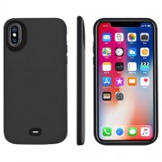 5000mAh External Battery Charger Case for Apple iPhone X - Grey