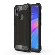 Armor Guard Plastic + TPU Hybrid Protection Case for Xiaomi Redmi 7 / Redmi Y3 - Black
