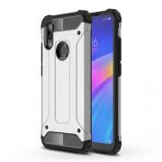 Armor Guard Plastic + TPU Hybrid Protection Case for Xiaomi Redmi 7 / Redmi Y3 - Silver