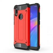 Armor Guard Plastic + TPU Hybrid Protection Case for Xiaomi Redmi 7 / Redmi Y3 - Red