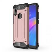 Armor Guard Plastic + TPU Hybrid Protection Case for Xiaomi Redmi 7 / Redmi Y3 - Rose Gold