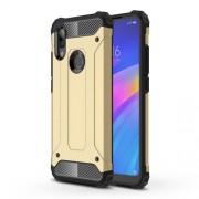 Armor Guard Plastic + TPU Hybrid Protection Case for Xiaomi Redmi 7 / Redmi Y3 - Gold