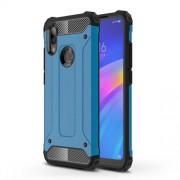 Armor Guard Plastic + TPU Hybrid Protection Case for Xiaomi Redmi 7 / Redmi Y3 - Baby Blue