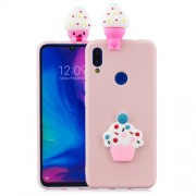 3D Pattern TPU Gel Protective Case for Xiaomi Redmi 7/Redmi Y3 - Ice Cream