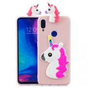 3D Pattern TPU Gel Protective Case for Xiaomi Redmi 7/Redmi Y3 - Unicorn